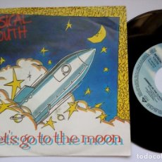 Discos de vinilo: MUSICAL YOUTH - LET´S GO TO THE MOON / JAMMING - SINGLE ALEMAN 1984 - MCA. Lote 171730734