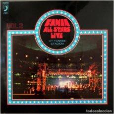 Disques de vinyle: FANIA ALL STARS - LIVE AT YANKEE STADIUM (VOL. 2) - LP SPAIN 1975 - FANIA RECORDS / DISCOPHON 6023. Lote 171731419