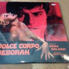 Discos de vinilo: NORA ORLANDI -IL DOLCE CORPO DI DEBORAH . B. S. O VINILO PRECINTADO. Lote 171735420
