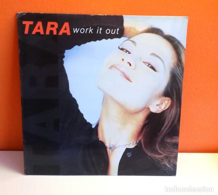 MAXI EN VINILO DE TARA. WORK IT OUT (1997) (Música - Discos de Vinilo - EPs - Disco y Dance)