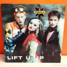 Discos de vinilo: MAXI EN VINILO DE 2 FABIOLA. LIFHT U UP. (1996). Lote 171741082