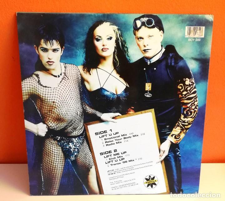 Discos de vinilo: MAXI EN VINILO DE 2 FABIOLA. LIFHT U UP. (1996) - Foto 3 - 171741082