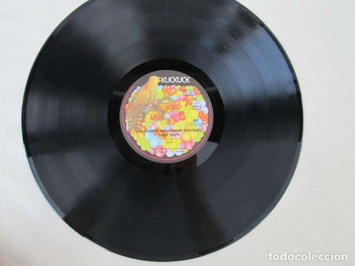Discos de vinilo: TERRY RILEY. DESCENDING MOONSHINE DERVISHES. LP VINILO. KUCKUCK 1982. VER FOTOGRAFIAS ADJUNTAS - Foto 5 - 171744519