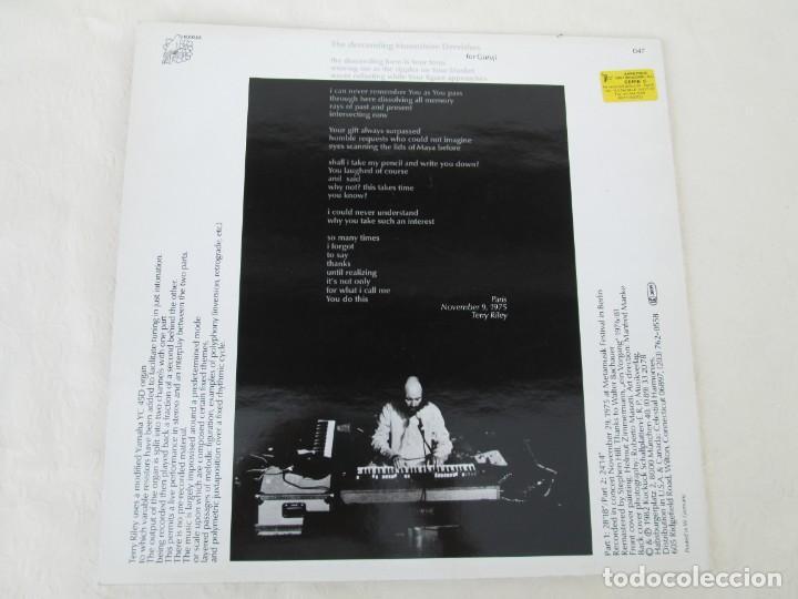 Discos de vinilo: TERRY RILEY. DESCENDING MOONSHINE DERVISHES. LP VINILO. KUCKUCK 1982. VER FOTOGRAFIAS ADJUNTAS - Foto 7 - 171744519