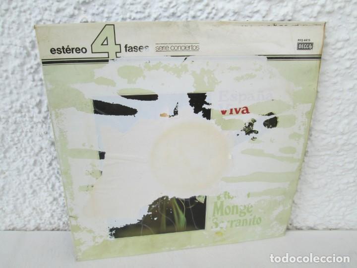 ESPAÑA VIVA. PHASE 4 STEREO. VICTOR MONGE. SERRANITO. LP VINILO. DECCA 1977. VER FOTOGRAFIAS (Música - Discos - LP Vinilo - Flamenco, Canción española y Cuplé)