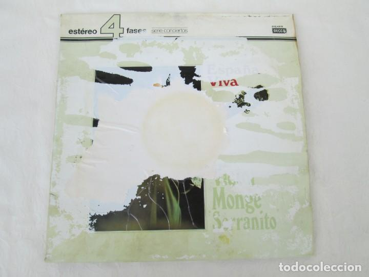 Discos de vinilo: ESPAÑA VIVA. PHASE 4 STEREO. VICTOR MONGE. SERRANITO. LP VINILO. DECCA 1977. VER FOTOGRAFIAS - Foto 2 - 171744782