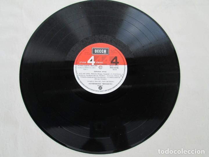Discos de vinilo: ESPAÑA VIVA. PHASE 4 STEREO. VICTOR MONGE. SERRANITO. LP VINILO. DECCA 1977. VER FOTOGRAFIAS - Foto 3 - 171744782