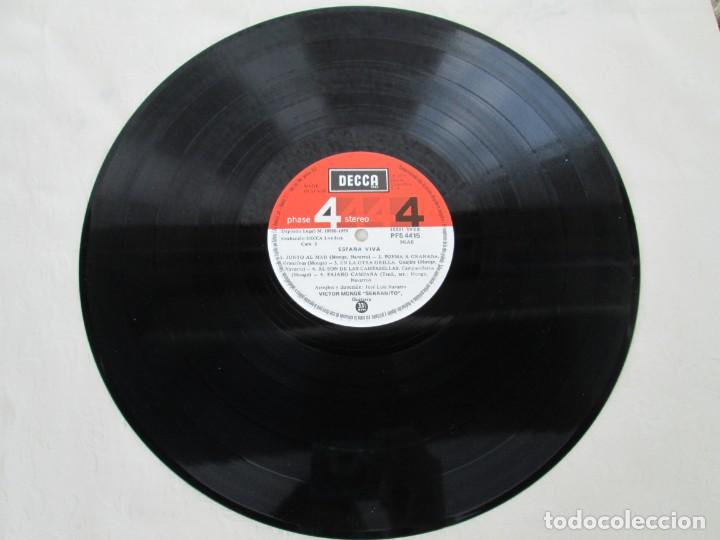 Discos de vinilo: ESPAÑA VIVA. PHASE 4 STEREO. VICTOR MONGE. SERRANITO. LP VINILO. DECCA 1977. VER FOTOGRAFIAS - Foto 5 - 171744782