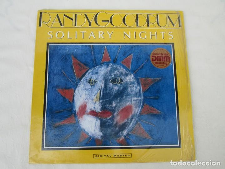 Discos de vinilo: RANDY GOODRUM. SOLITARY NIGHTS. LP VINILO. DIGITAL MASTER GRP RECORDS 1985. VER FOTOGRAFIAS ADJUNTAS - Foto 2 - 171745653