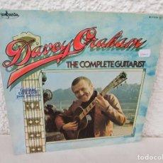 Discos de vinilo: DAVEY GRAHAM. THE COMPLETE GUITARIST. LP VINILO. GUIMBARDA ZAFIRO 1979. VER FOTOGRAFIAS ADJUNTAS. Lote 171745967