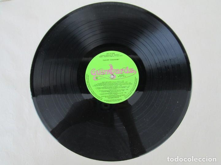 Discos de vinilo: DAVEY GRAHAM. THE COMPLETE GUITARIST. LP VINILO. GUIMBARDA ZAFIRO 1979. VER FOTOGRAFIAS ADJUNTAS - Foto 5 - 171745967