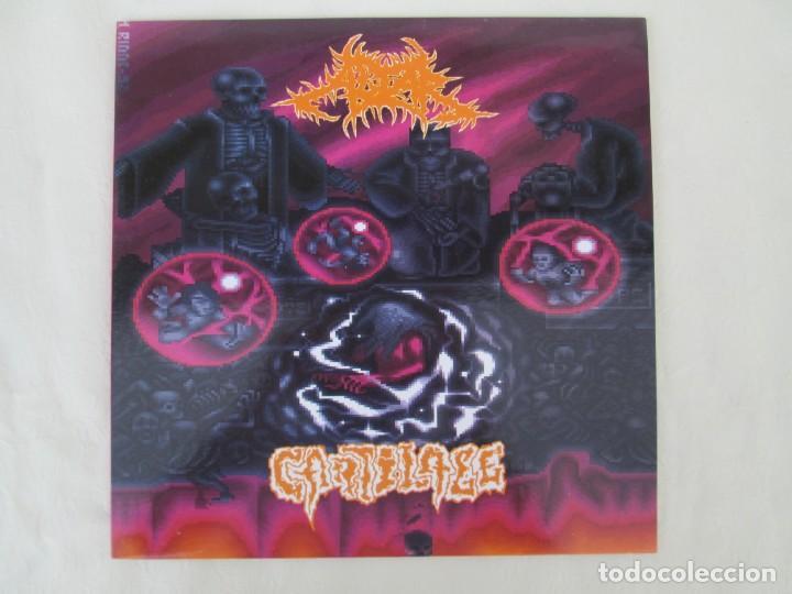 Discos de vinilo: EX OBLIVIONE. CARTILAGE. THE FRAGILE CONCEPT OF AFFECTION. LP VINILO. DRAWNED PRODUCTIONS 1992. - Foto 2 - 171746704