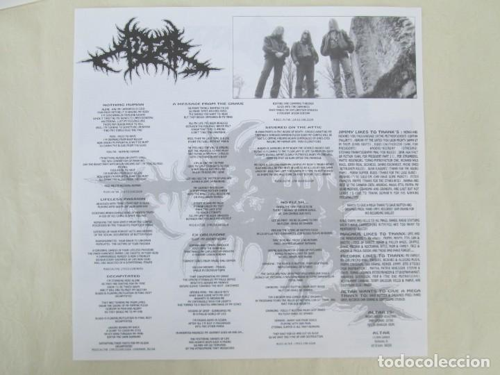 Discos de vinilo: EX OBLIVIONE. CARTILAGE. THE FRAGILE CONCEPT OF AFFECTION. LP VINILO. DRAWNED PRODUCTIONS 1992. - Foto 3 - 171746704