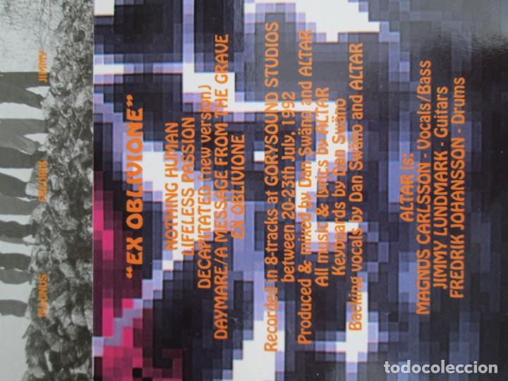 Discos de vinilo: EX OBLIVIONE. CARTILAGE. THE FRAGILE CONCEPT OF AFFECTION. LP VINILO. DRAWNED PRODUCTIONS 1992. - Foto 9 - 171746704