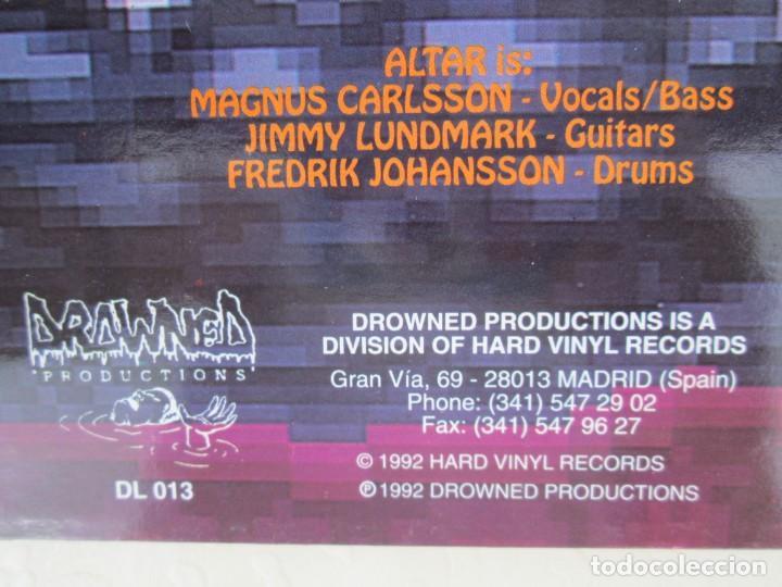 Discos de vinilo: EX OBLIVIONE. CARTILAGE. THE FRAGILE CONCEPT OF AFFECTION. LP VINILO. DRAWNED PRODUCTIONS 1992. - Foto 11 - 171746704
