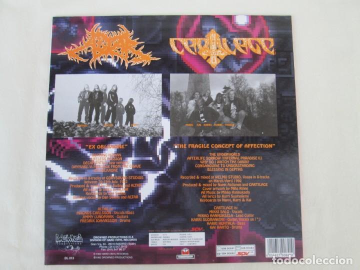 Discos de vinilo: EX OBLIVIONE. CARTILAGE. THE FRAGILE CONCEPT OF AFFECTION. LP VINILO. DRAWNED PRODUCTIONS 1992. - Foto 12 - 171746704