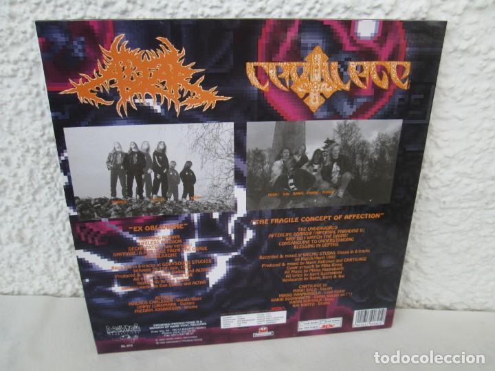 Discos de vinilo: EX OBLIVIONE. CARTILAGE. THE FRAGILE CONCEPT OF AFFECTION. LP VINILO. DRAWNED PRODUCTIONS 1992. - Foto 13 - 171746704