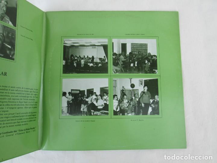 Discos de vinilo: FONOTECA DE MATERIALS. RECOPILACIO SONORA DE MUSICA TRADICIONAL VALENCIANA. VOL V-VI. LP VINILO.1986 - Foto 3 - 171747508