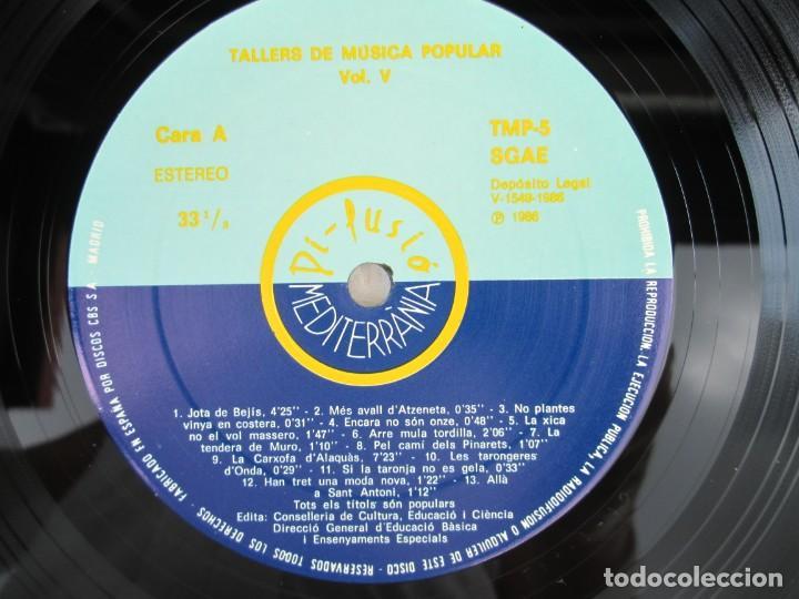 Discos de vinilo: FONOTECA DE MATERIALS. RECOPILACIO SONORA DE MUSICA TRADICIONAL VALENCIANA. VOL V-VI. LP VINILO.1986 - Foto 6 - 171747508