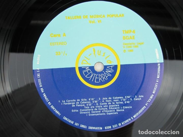 Discos de vinilo: FONOTECA DE MATERIALS. RECOPILACIO SONORA DE MUSICA TRADICIONAL VALENCIANA. VOL V-VI. LP VINILO.1986 - Foto 10 - 171747508