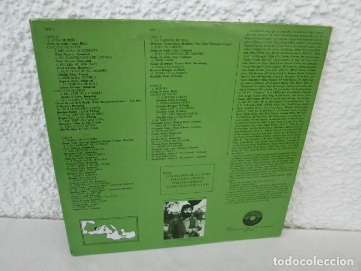 Discos de vinilo: FONOTECA DE MATERIALS. RECOPILACIO SONORA DE MUSICA TRADICIONAL VALENCIANA. VOL V-VI. LP VINILO.1986 - Foto 17 - 171747508