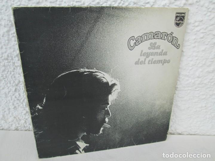 CAMARON. LA LEYENDA DEL TIEMPO. LP VINILO. PHILIPS FONOGRAM 1979. VER FOTOGRAFIAS ADJUNTAS (Música - Discos - LP Vinilo - Flamenco, Canción española y Cuplé)