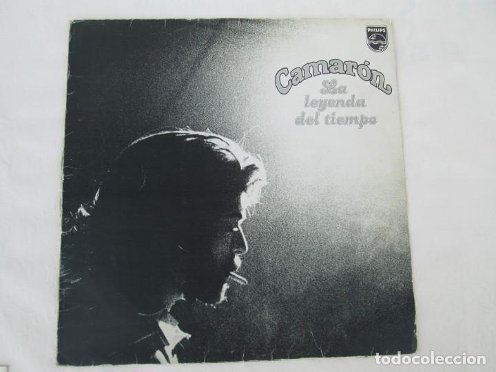Discos de vinilo: CAMARON. LA LEYENDA DEL TIEMPO. LP VINILO. PHILIPS FONOGRAM 1979. VER FOTOGRAFIAS ADJUNTAS - Foto 2 - 171748709