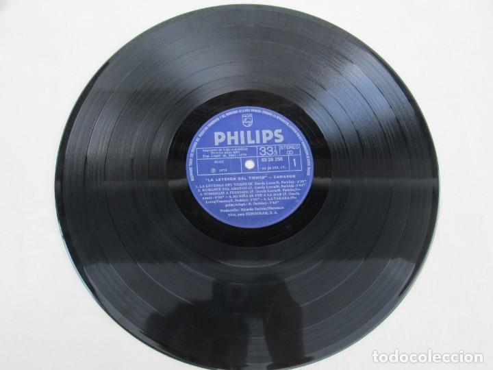 Discos de vinilo: CAMARON. LA LEYENDA DEL TIEMPO. LP VINILO. PHILIPS FONOGRAM 1979. VER FOTOGRAFIAS ADJUNTAS - Foto 8 - 171748709