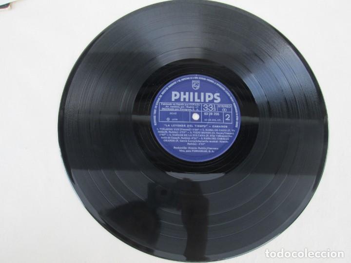 Discos de vinilo: CAMARON. LA LEYENDA DEL TIEMPO. LP VINILO. PHILIPS FONOGRAM 1979. VER FOTOGRAFIAS ADJUNTAS - Foto 10 - 171748709