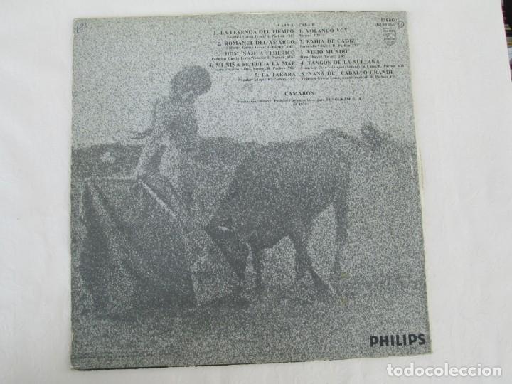 Discos de vinilo: CAMARON. LA LEYENDA DEL TIEMPO. LP VINILO. PHILIPS FONOGRAM 1979. VER FOTOGRAFIAS ADJUNTAS - Foto 13 - 171748709