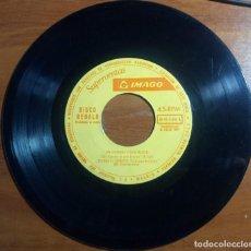 Discos de vinilo: SUPERVENTAS SIMAGO - EP 45 RPM. Lote 171768549