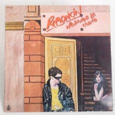 Discos de vinilo: RAMONCIN. ARAÑANDO LA CIUDAD. HISPAVOX 1981. Lote 171772957