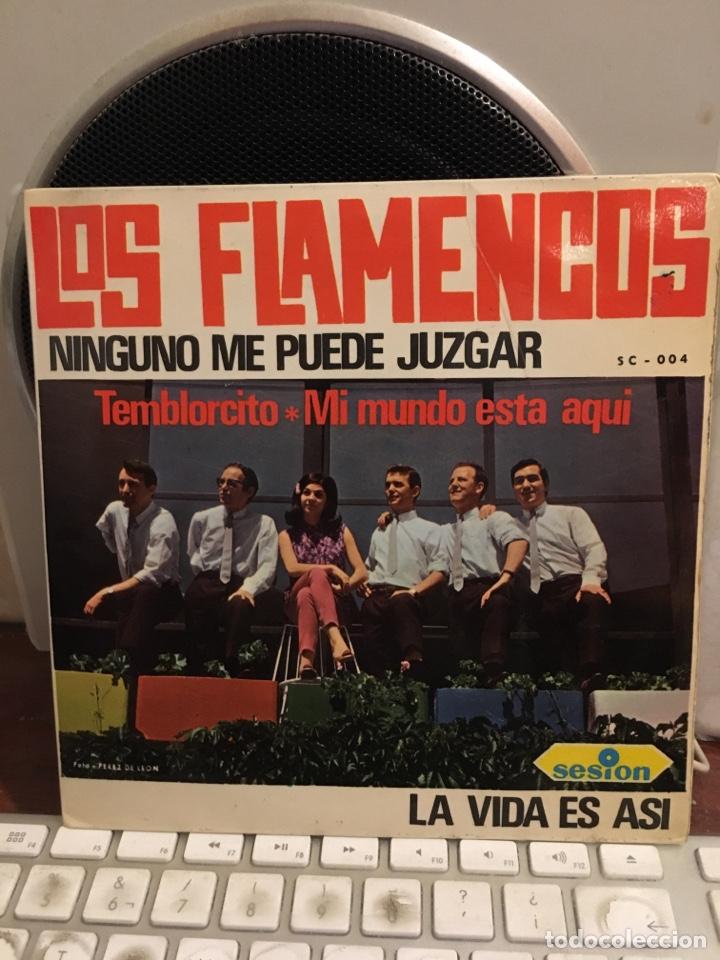 LOS FLAMENCOS-NINGUNO ME PUEDE JUZGAR+3-1966 (Música - Discos de Vinilo - EPs - Grupos Españoles 50 y 60)