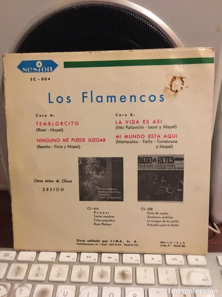 Discos de vinilo: LOS FLAMENCOS-NINGUNO ME PUEDE JUZGAR+3-1966 - Foto 2 - 171773468