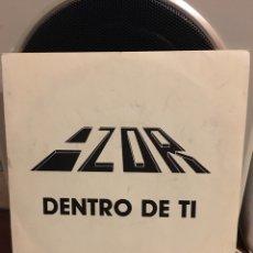 Discos de vinilo: AZOR-DENTRO DE TI-1987-PROMO NUEVO. Lote 171773920