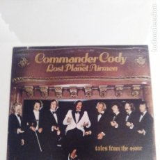 Discos de vinilo: COMMANDER CODY & HIS LOST PLANET AIRMEN TALES FROM THE OZONE ( 1975 WARNER BROS USA ). Lote 171774685