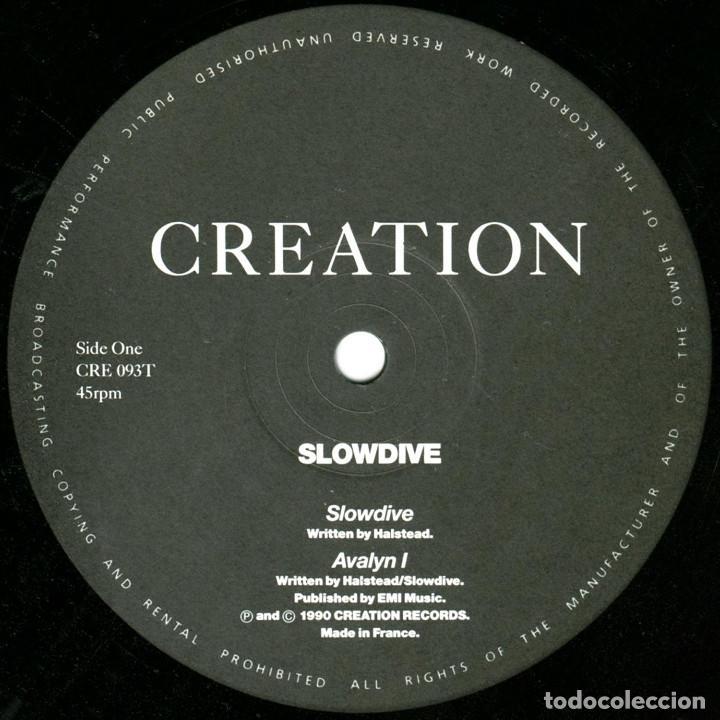 Discos de vinilo: Slowdive – Slowdive - Ep UK 1990 - Creation Records CRE 093T - Foto 3 - 171775784