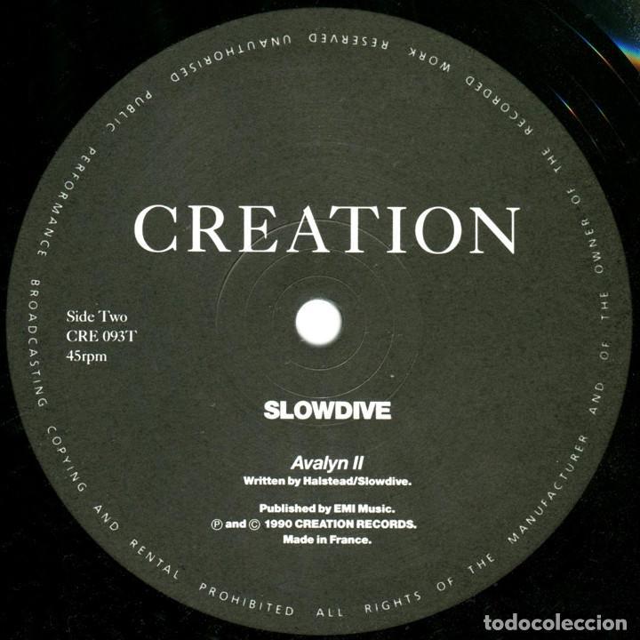 Discos de vinilo: Slowdive – Slowdive - Ep UK 1990 - Creation Records CRE 093T - Foto 4 - 171775784