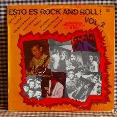 Discos de vinilo: GRABACIONES ORIGINALES DE RADIO 1, BBC,ESTO ES ROCK AND ROLL! VOL.2, DOBLON 50.1579, 1981, ESPAÑA, . Lote 171777259