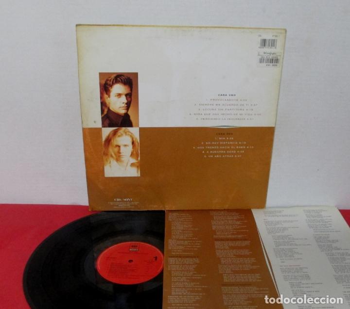 Discos de vinilo: PLATON - PERDIENDO LA INOCENCIA - LP - CBS/SONY 1992 SPAIN + LETRAS - Foto 2 - 171780619