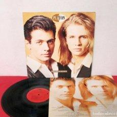 Discos de vinilo: PLATON - PERDIENDO LA INOCENCIA - LP - CBS/SONY 1992 SPAIN + LETRAS. Lote 171780619