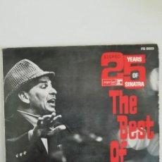 Discos de vinilo: THE BEST OF FRANK SINATRA 25 YEARS EDICION ALEMANA. Lote 171787619