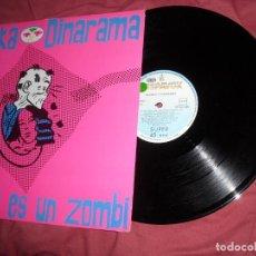 Discos de vinilo: ALASKA Y DINARAMA MAXISINGLE MI NOVIO ES UN ZOMBIE +3 TRACKS 1989. Lote 171797365