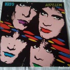 Discos de vinilo: 26-LP KISS, ASYLUM, 1985. Lote 171797597