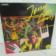 Discos de vinilo: JERRY LEE LEVIS. AND HIS PUMPING PIANO. LP VINILO. SERDISCO 1988. VER FOTOGRAFIAS ADJUNTAS. Lote 171803784