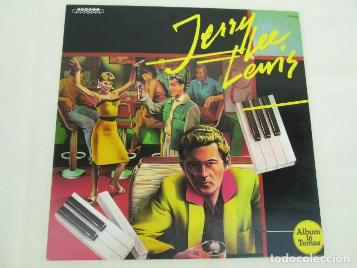 Discos de vinilo: JERRY LEE LEVIS. AND HIS PUMPING PIANO. LP VINILO. SERDISCO 1988. VER FOTOGRAFIAS ADJUNTAS - Foto 2 - 171803784