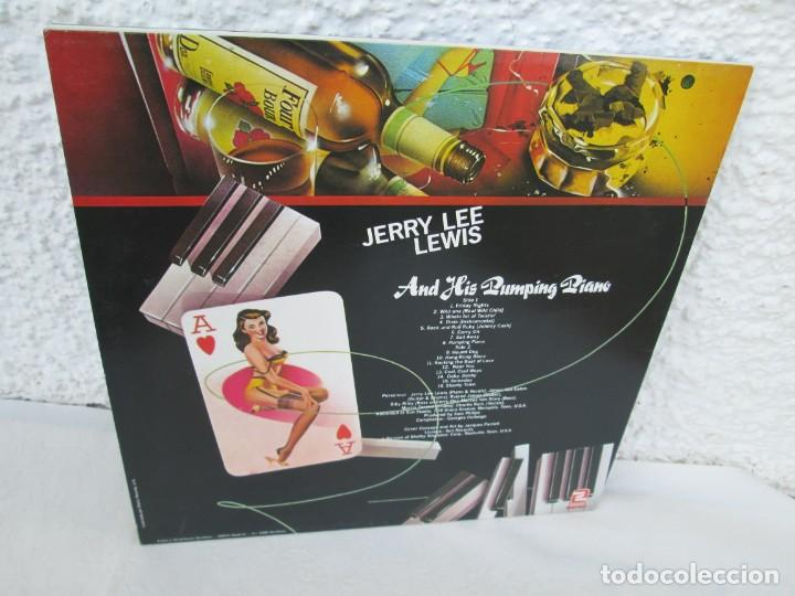 Discos de vinilo: JERRY LEE LEVIS. AND HIS PUMPING PIANO. LP VINILO. SERDISCO 1988. VER FOTOGRAFIAS ADJUNTAS - Foto 9 - 171803784