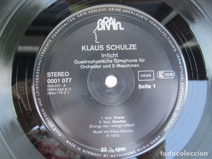 Discos de vinilo: KLAUS SCHULZE. IRRLICHT. LP VINILO. METRONOME RECORDS 1972. VER FOTOGRAFIAS ADJUNTAS - Foto 4 - 171804215