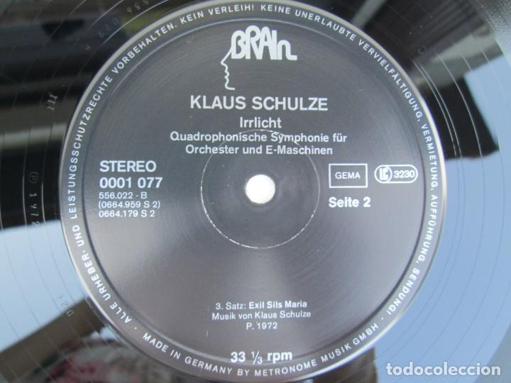 Discos de vinilo: KLAUS SCHULZE. IRRLICHT. LP VINILO. METRONOME RECORDS 1972. VER FOTOGRAFIAS ADJUNTAS - Foto 6 - 171804215