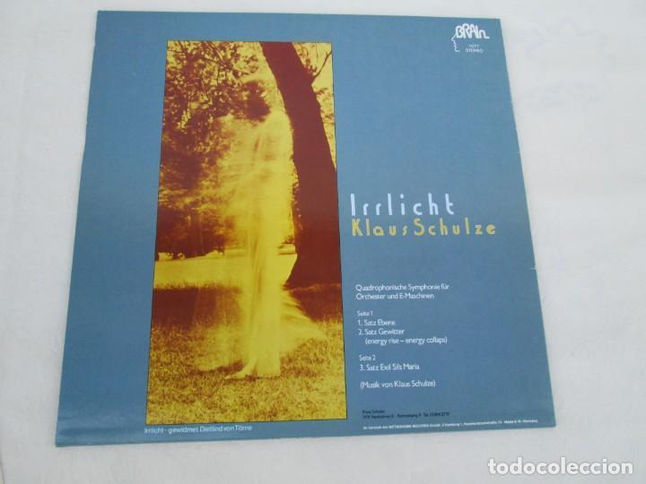 Discos de vinilo: KLAUS SCHULZE. IRRLICHT. LP VINILO. METRONOME RECORDS 1972. VER FOTOGRAFIAS ADJUNTAS - Foto 8 - 171804215